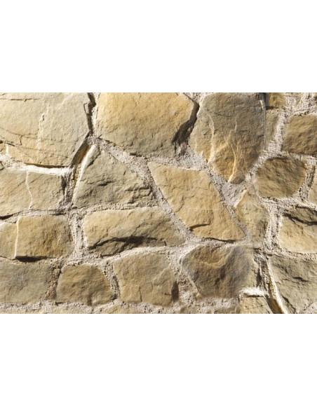 Stenvägg Colorado Yellow - 0,5 m2