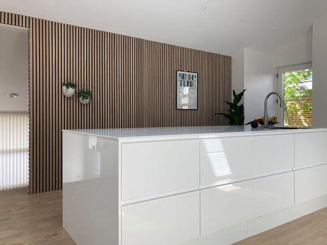 Ribbvägg kök på vägg